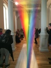The over-Instagrammed Renwick Museum rainbow exhibit.