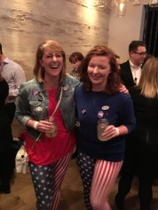 "We wore patriotic clothes and crashed a Republican ""Never Trump"" party, where we laughed and enjoyed lively political debates until the election results rolled in and we stopped laughing."